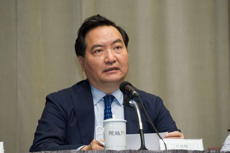 20190328-行政院記者會,政務委員羅秉成。(甘岱民攝)