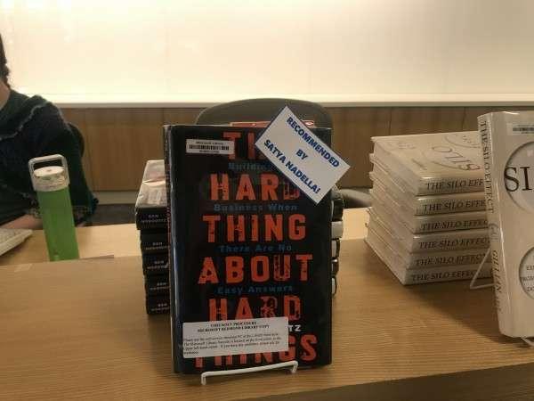 《什麼才是最難的事》(The hard thing about hard things)(圖/高敬原攝)