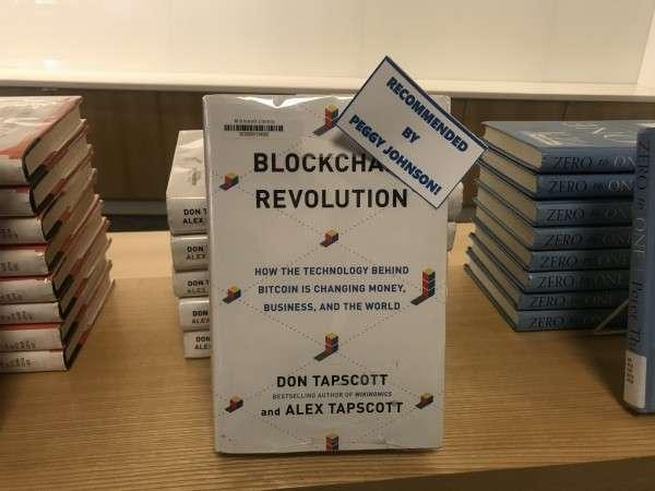 《區塊鏈革命》(Blockchain Revolution)(圖/高敬原攝)
