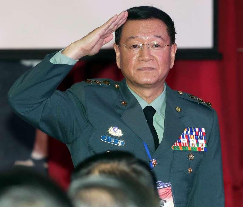 20190329-國防部29日公布重大軍職調動,陸軍司令王信龍上將調任國防大學校長。(蘇仲泓攝)