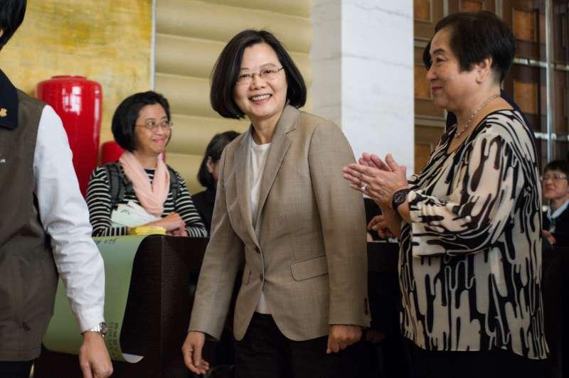 20190330-「台灣關係法40周年暨台灣旅行法周年紀念餐會」,總統蔡英文出席。(甘岱民攝)