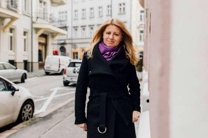 斯洛伐克史上首位女總統卡普托娃(Zuzana Čaputová)。(取自Zuzana Čaputová臉書專頁)