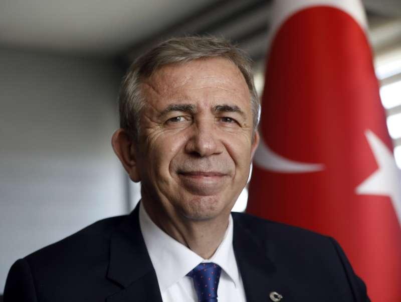 土耳其在野黨「共和人民黨」推派的安卡拉市長候選人亞瓦許(美聯社)