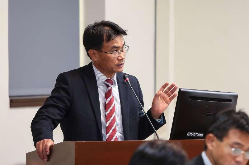 20190401-農委會主委陳吉仲1日於經濟委員會備詢。(顏麟宇攝)