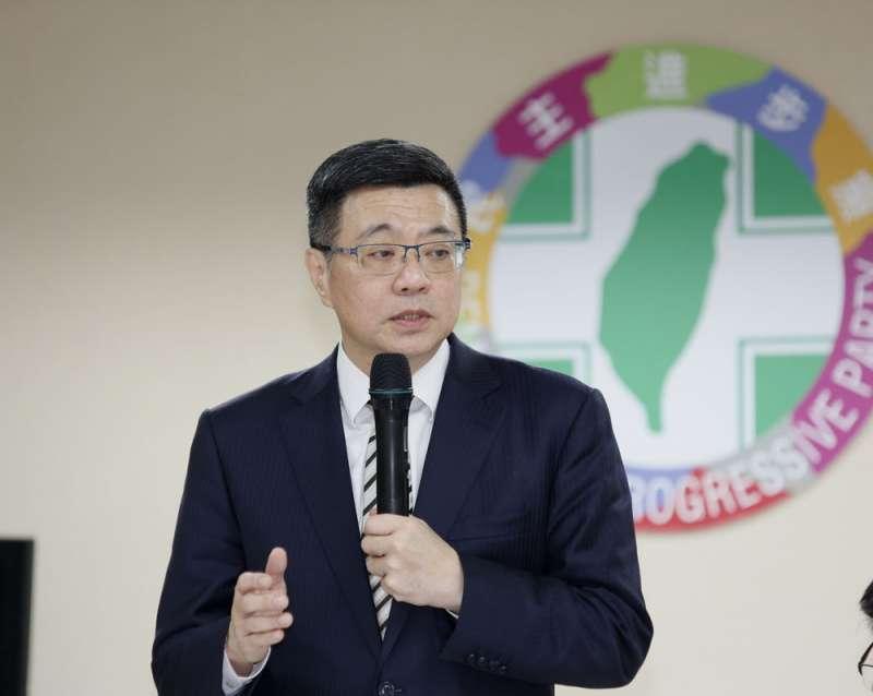 卓榮泰帶領的黨中央便宜行事,讓初選有了破口。(郭晉瑋攝)