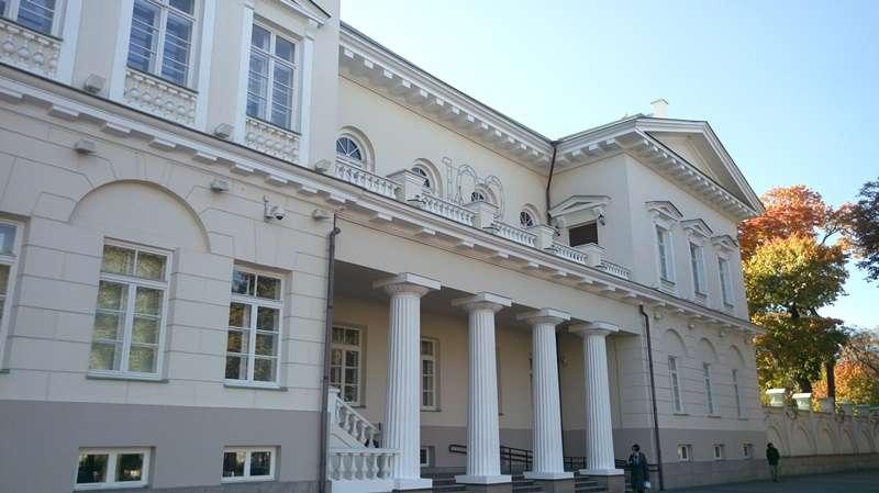立陶宛總統府(圖/作者提供)