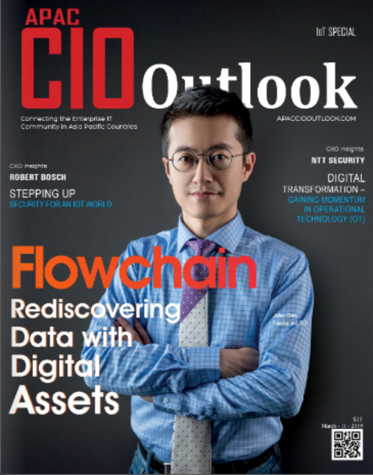 APAC CIO Outlook IOT特刊封面(圖/Flowchain)