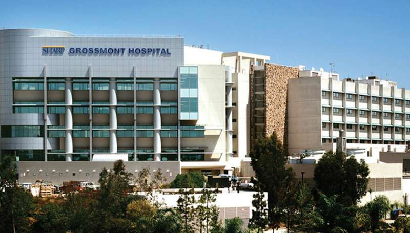 美國「夏普格羅斯蒙特醫院」被控在手術室內安裝針孔攝影機。(取自夏普格羅斯蒙特醫院官網)