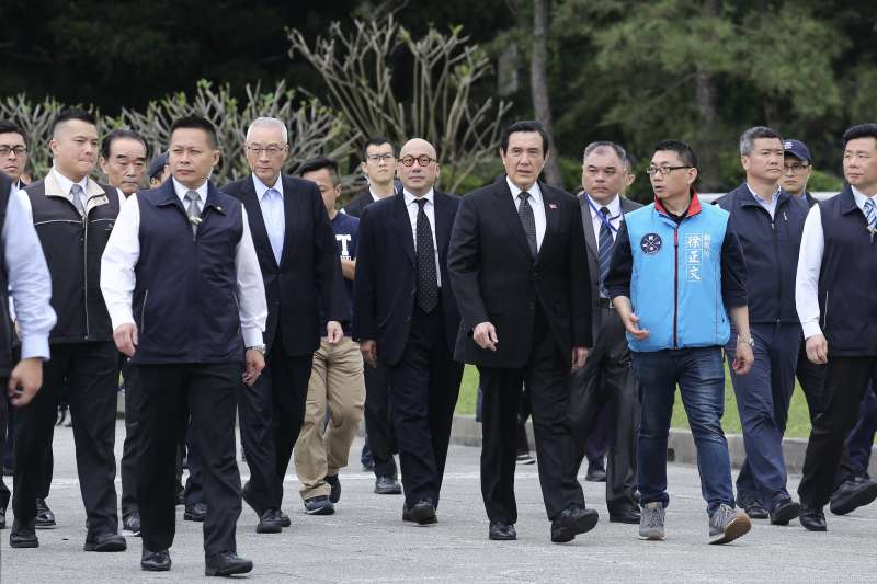 20190405-「蔣公,我們懷念您」活動,前總統馬英九、國民黨主席吳敦義一同出席。(陳品佑攝)
