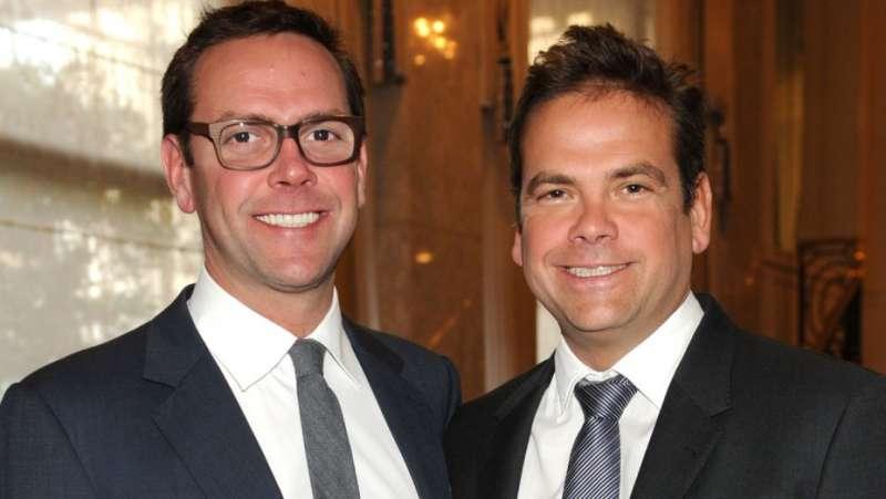 詹姆士(左)與拉克蘭(右)(美聯社)