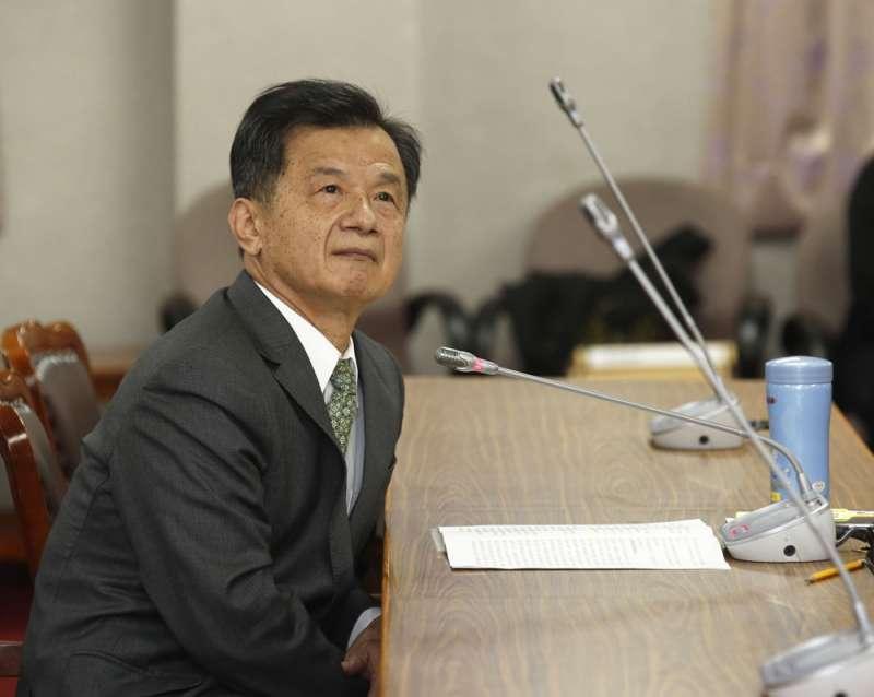 邱太三捲入關說案,向總統請辭國安會首席諮委獲准。(郭晉瑋攝)