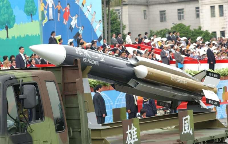 雄風飛彈成果不輸先進國家,徐炎廷為推手之一。(林瑞慶攝)
