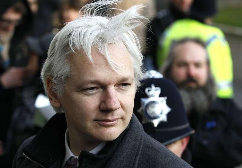 維基解密(WikiLeaks)創辦人阿桑奇(Julian Assange)(AP)