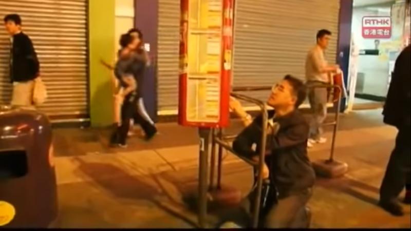 田北辰:「交通費扼殺了窮人的生存空間。」(圖片取自Youtube)