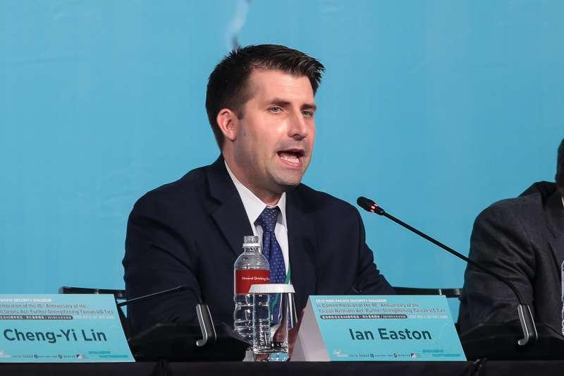 20190416-2049計劃研究所研究員易思安(Ian Easton)16日出席「2019印太安全對話」。(顏麟宇攝)