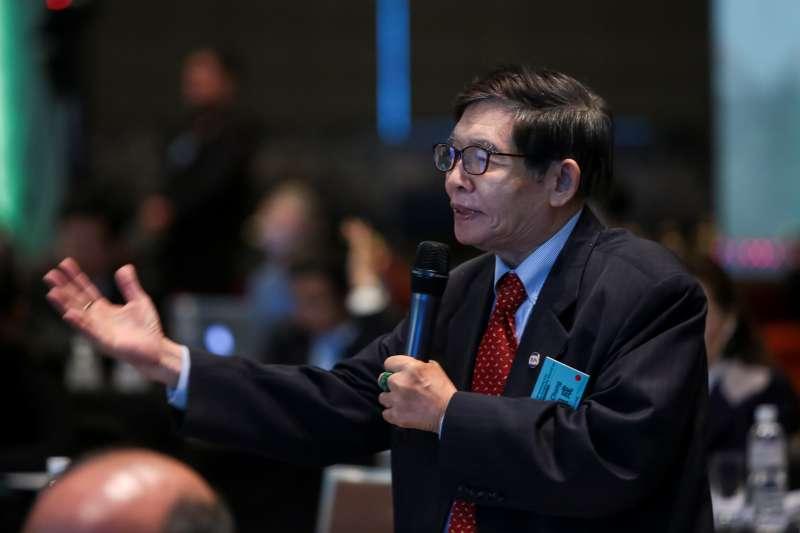 20190416-前國安會副秘書長張旭成16日出席「2019印太安全對話」。(顏麟宇攝)