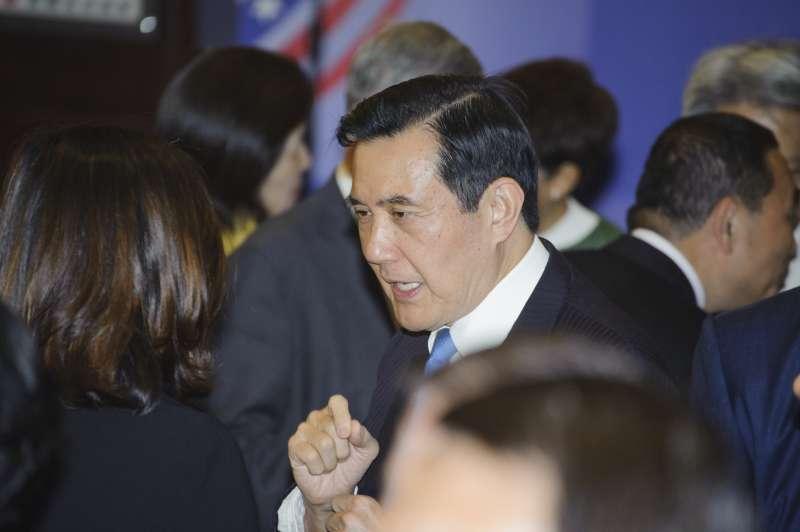 20190415-台灣關係法&AIT@40:40友誼慶祝酒會,前總統馬英九出席。(甘岱民攝)