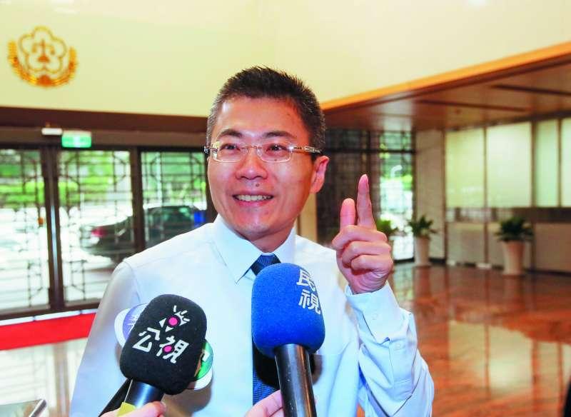 關說案關鍵人物之一的蔡正傑強調,檢察長彭坤業沒有踰越職權。(柯承惠攝)