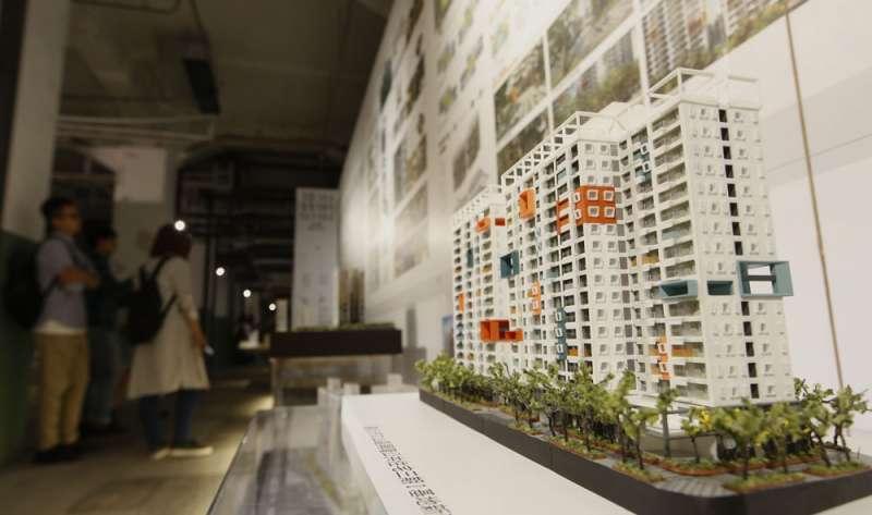房產專家質疑柯文哲拋出「空屋多不該蓋社宅」的主張,恐怕是為了掩飾政策失敗。(郭晉瑋攝)