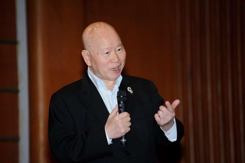 20190418-「台灣的定海神針」國際論壇,前民進黨主席許信良。(甘岱民攝)