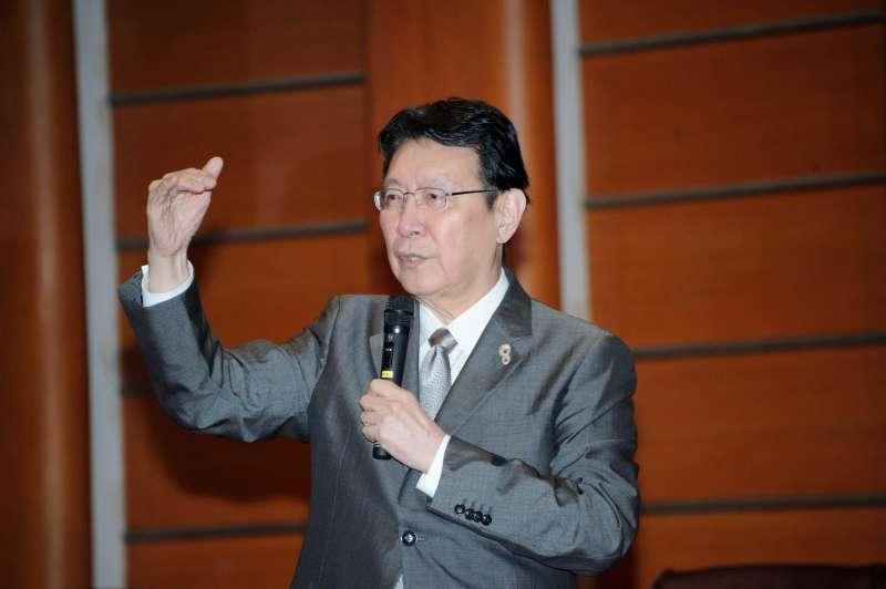 20190418-「台灣的定海神針」國際論壇,中國廣播公司董事長趙少康。(甘岱民攝)