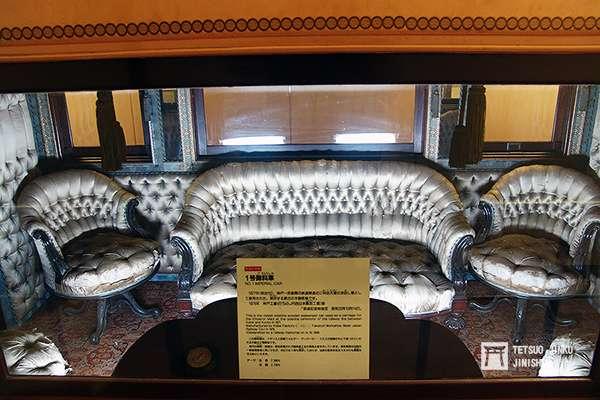 保存在鐵道博物館的1號御料車(第一代),已有一百四十多年的歷史。(圖/陳威臣攝,想想論壇提供)