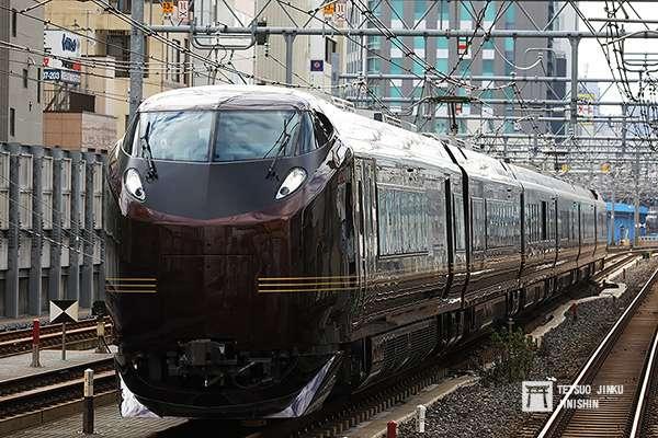全編成試運轉的655系,是目前使用中的「御召列車」。(圖/陳威臣攝,想想論壇提供)