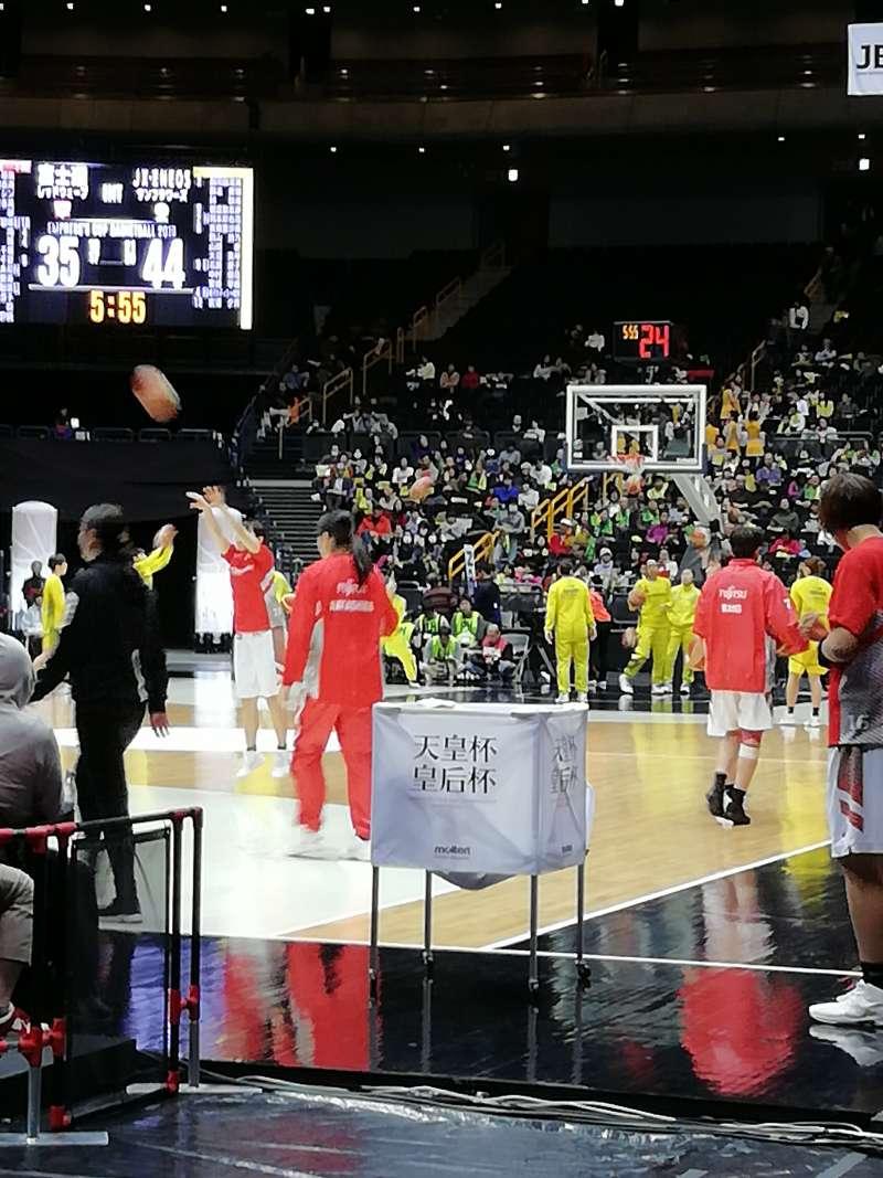 東京奧運籃球賽場琦玉超級體育館。(圖/潘彥瑞攝,想想論壇提供)