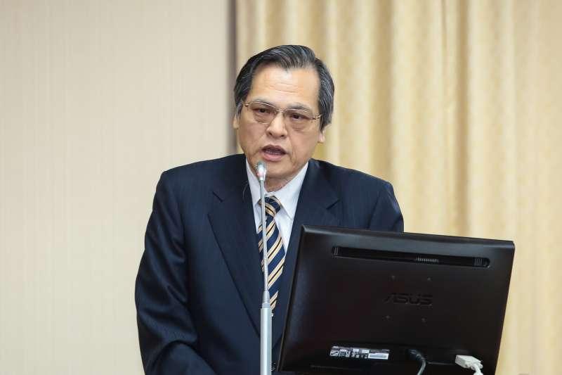 20190422-陸委會主委陳明通22日於內政委員會備詢。(顏麟宇攝)