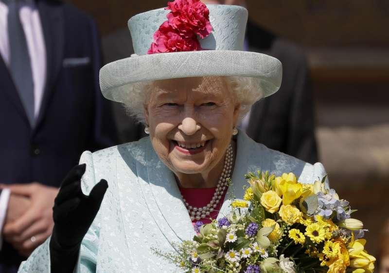 英國女王伊麗莎白二世慶祝93歲生日。(AP)