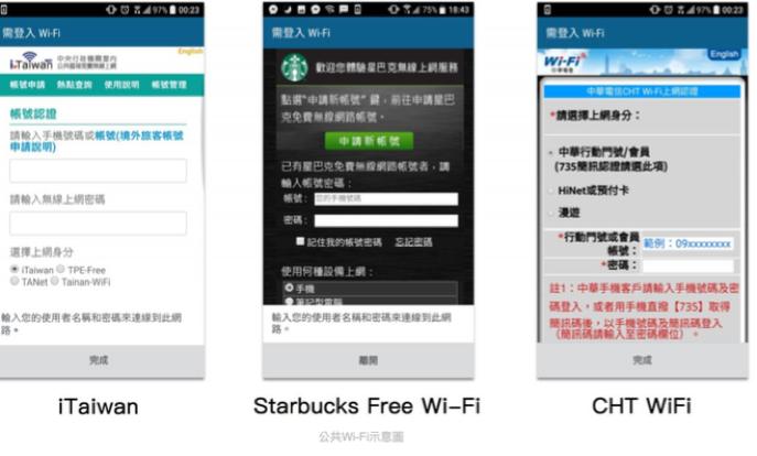 對於行動網路流量量較少的人,出門在外時若需要網路,往往必須尋找與使用公共Wi-Fi。(圖片提供:Whisr app)