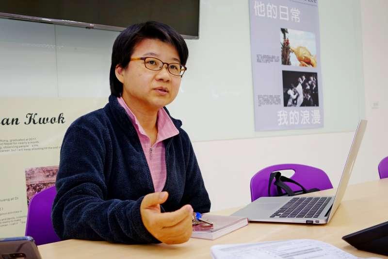 講師周德嬚表示,透過數位工具,能激盪出更多創意無限的知識傳播方式。(圖/輔仁大學提供)