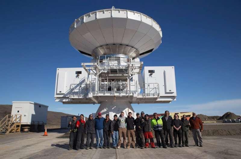 格陵蘭天文望遠鏡(GLT)計畫,整個過程需禁得起極地超低溫考驗。(中科院提供)