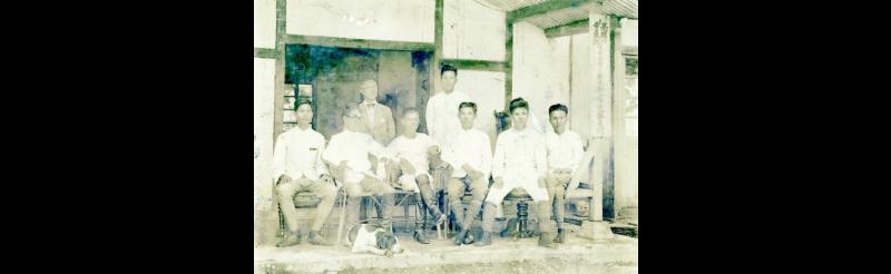 日治時期警察駐在所(典藏者:邱欣俊,取自屏東數位典藏)