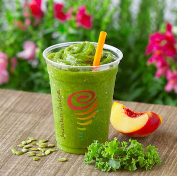 Jamba Juice的Amazing Greens™ 中添加了羽衣甘藍作為營養來源之一,喝完一杯就飽飽!(圖/Jamba Juice官網)