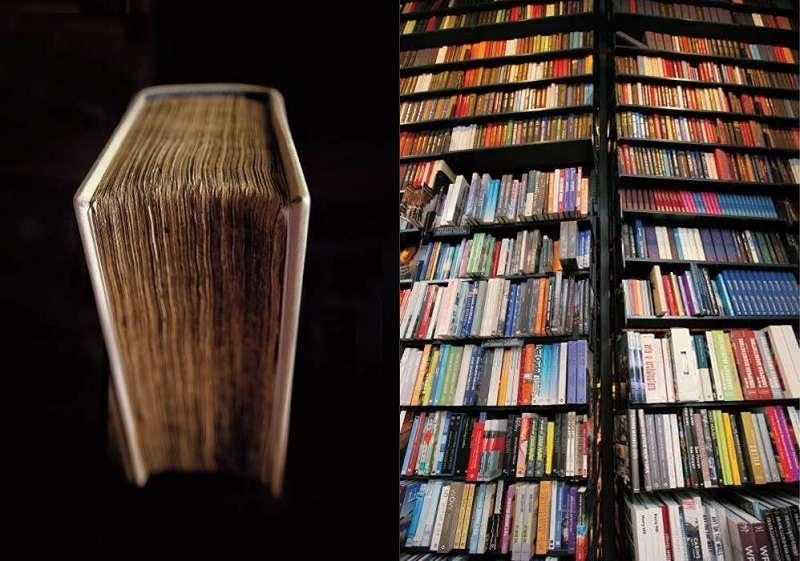 當一個人在人生路上陷入徬徨之際,最好的去處便是書店。(聯經提供)