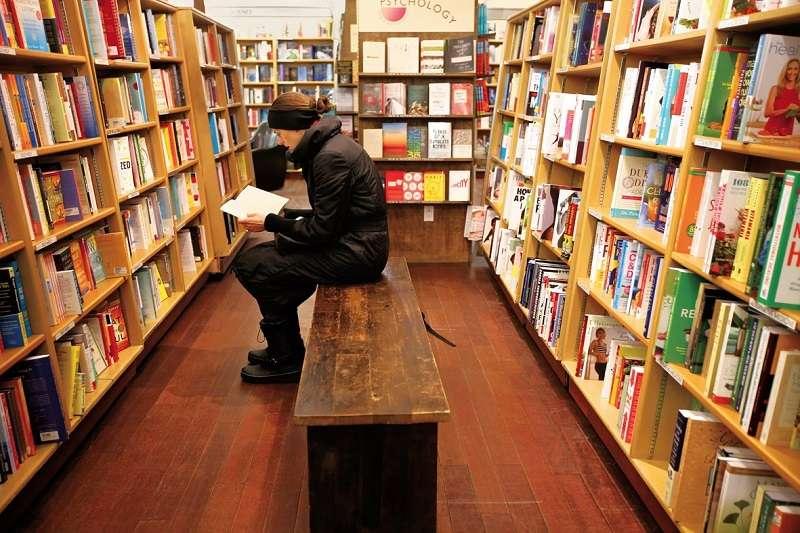 麥克納利.傑克森書店(McNally Jackson)一景。(聯經提供)