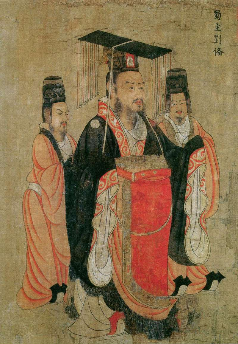 劉備稱帝(圖/維基百科)
