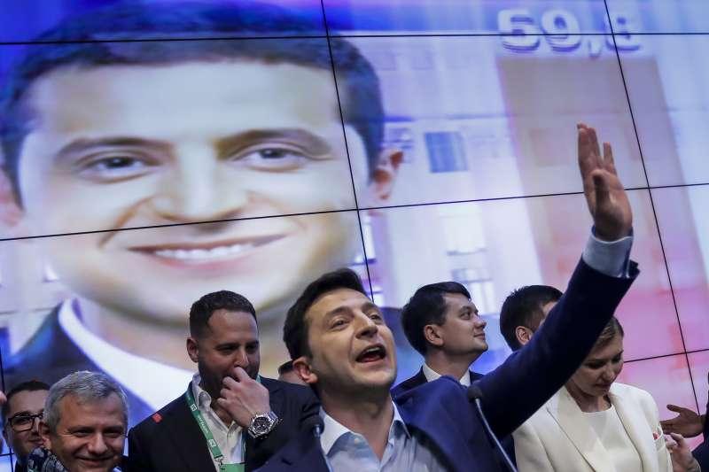 烏克蘭總統當選人哲連斯基(Volodymyr Zelensky)(AP)