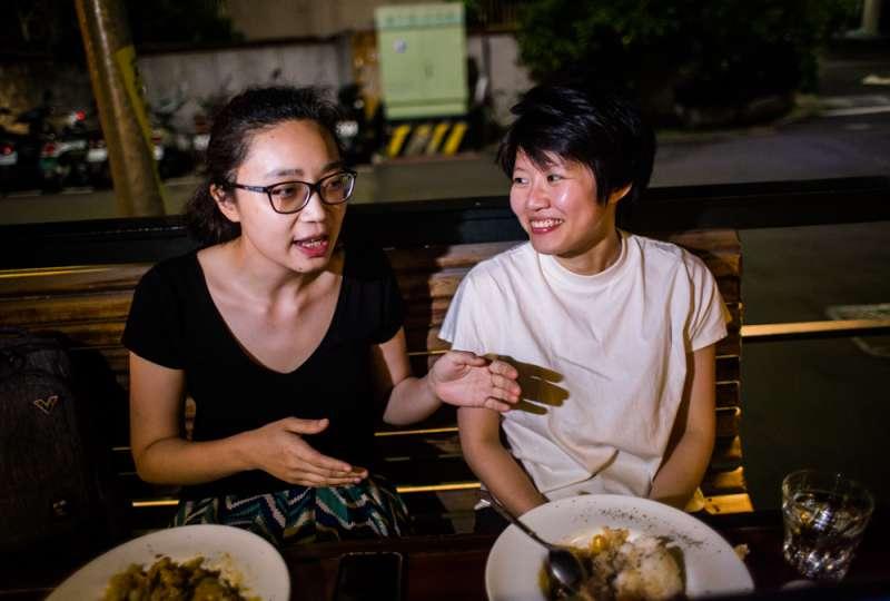 20190426-專訪徐蓓婕跟楊珣。(簡必丞攝)