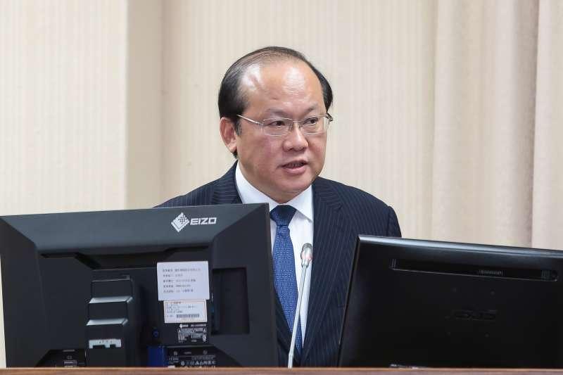 20190502-國安局副局長陳文凡2日出席立院外交國防委員會。(顏麟宇攝)