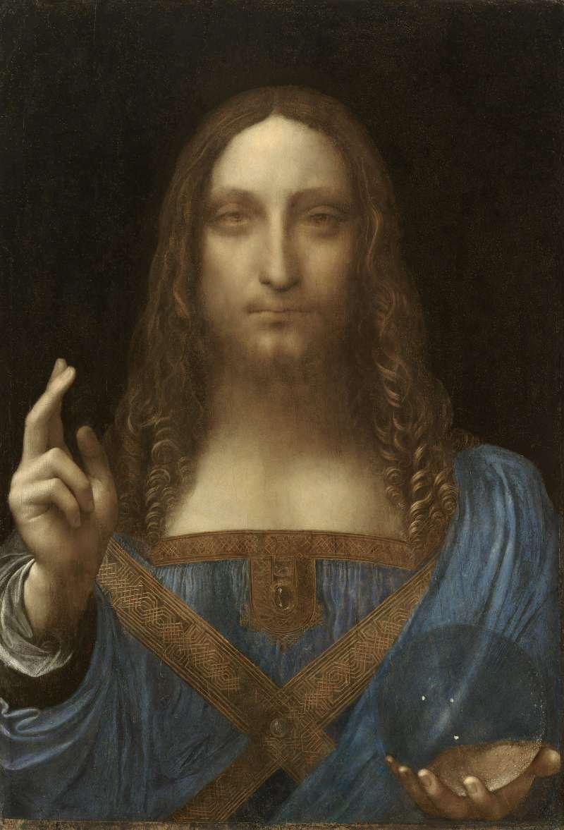 達文西的油畫《救世主》(Salvator Mundi)(Wikipedia / Public Domain)