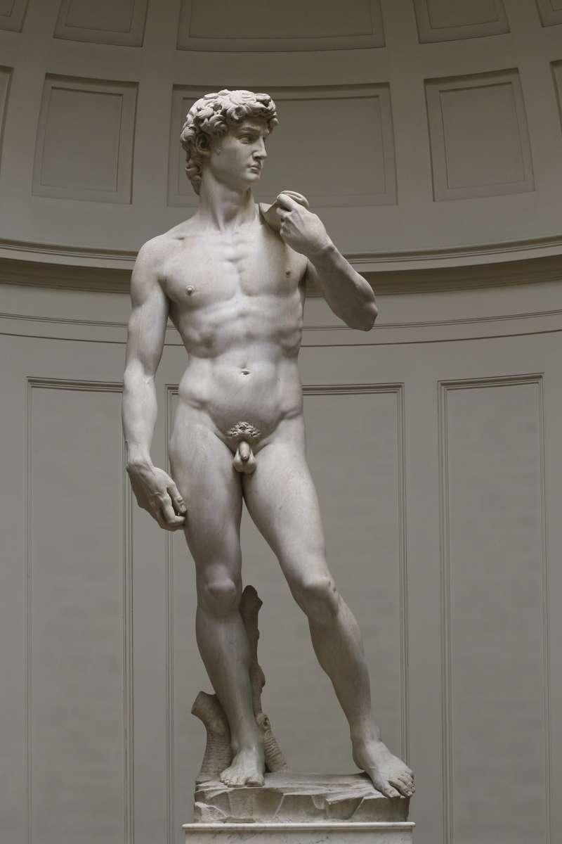 米開朗基羅(Michelangelo)的「大衛像」(David)(Wikipedia / CC BY 3.0)