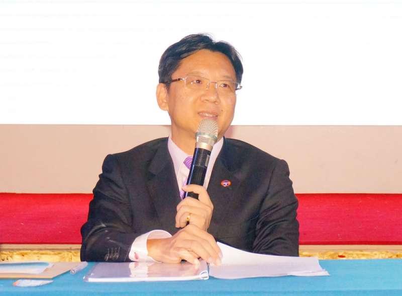 「唯一」參選台企聯新任會長的李政宏「沒有政見」。(翻攝自上海台協網站)