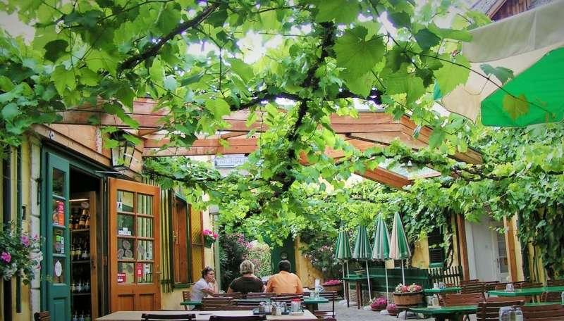 Wiener Heuriger 維也納葡萄酒館。(圖/楊佳恬提供)