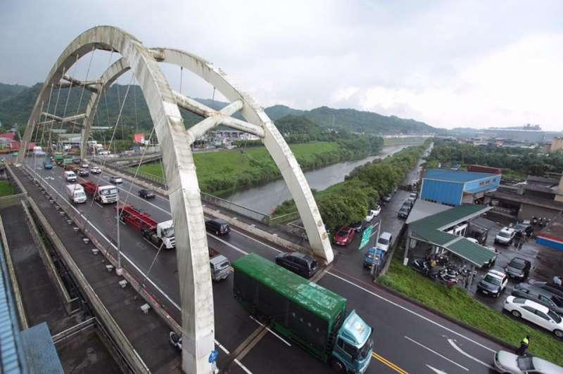 20190504-基隆河。(取自林右昌臉書)