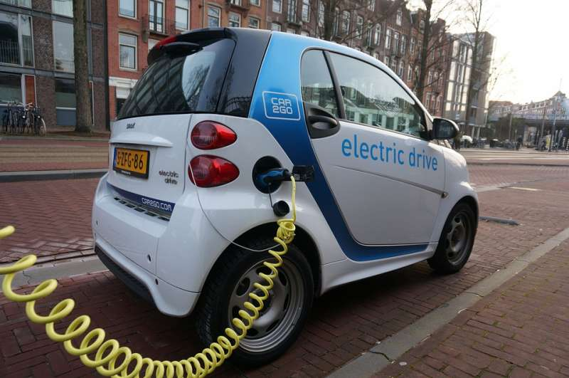 荷蘭阿姆斯特丹電力車。(圖/pixabay)
