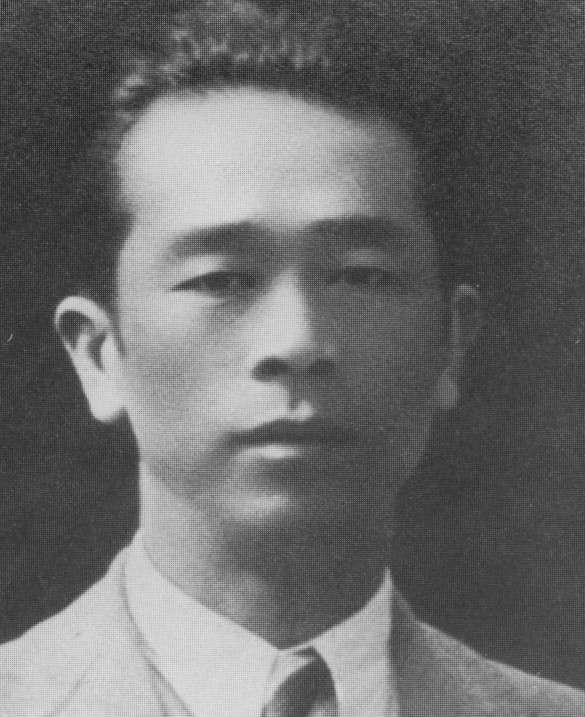 日治時期台灣作家,張我軍。(取自維基百科)