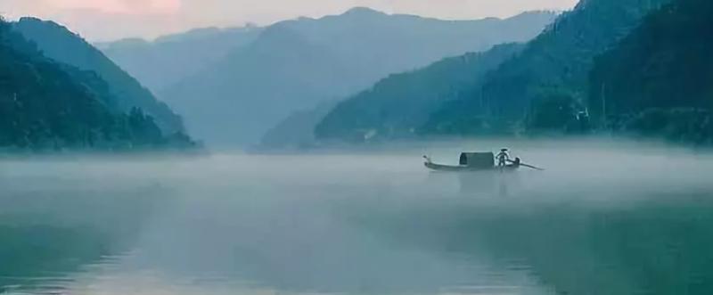 獨舟(取自公眾號@劉君祖經典講堂)