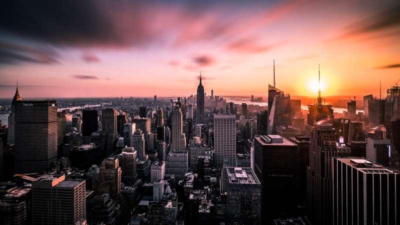 紐約 城市 繁榮 建築 (flickr@Giuseppe Milo)